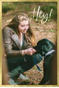 sami and her dog
